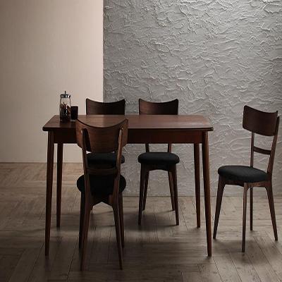 送料無料 モダンデザインダイニング Le qualite ル・クアリテ 5点セット(テーブル+チェア4脚) W150 500023770