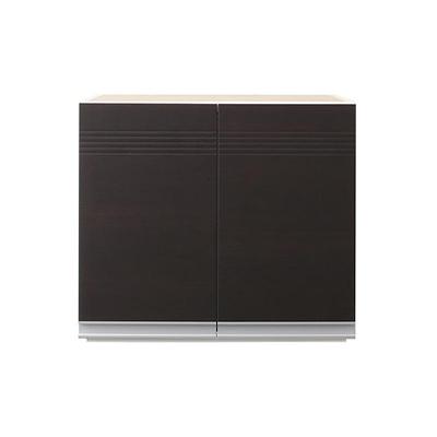 送料無料 Sfida スフィーダ 日本製 上棚 幅60×奥行41×高さ45cm 木製 完成品 開戸タイプ ホワイト ダークブラウン 500026763 上置き棚 薄型 モダン キッチン収納 収納家具 収納棚 台所 収納