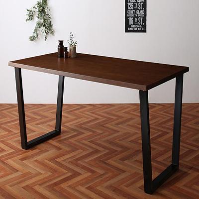 ダイニングテーブル W150 送料無料 ヴィンテージテイスト 新作続 NIX 500026974 信頼 ニックス スチール脚ダイニング