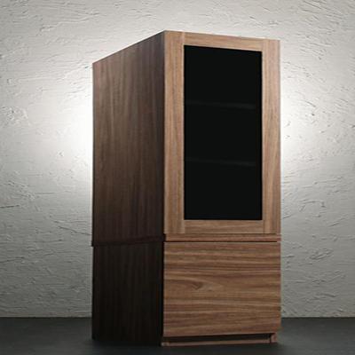 送料無料 キャビネットが選べるテレビボードシリーズ add9 アドナイン キャビネット ガラス扉 500027022