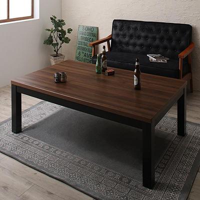 送料無料 ヴィンテージデザイン古木風こたつテーブル 7th Ave セブンスアベニュー 5尺長方形(90×150cm) 500027640