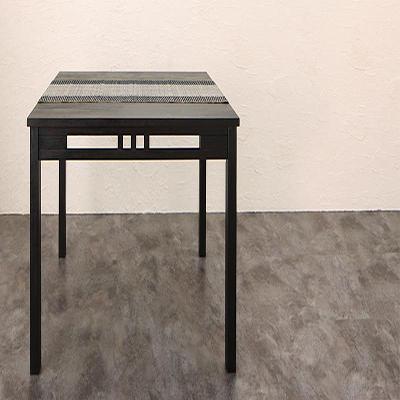 送料無料 アジアンモダンダイニング Aperm アパーム ダイニングテーブル W120 500028088