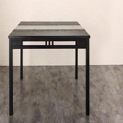 送料無料 アジアンモダンダイニング Aperm アパーム ダイニングテーブル W150 500028089