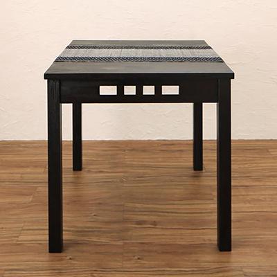 送料無料 アジアンモダンダイニングセット Kubera クベーラ ダイニングテーブル W76 500028094