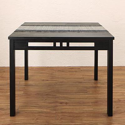 送料無料 アジアンモダンダイニングセット Kubera クベーラ ダイニングテーブル W120 500028095