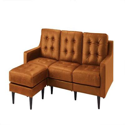 送料無料 カウチソファ ミドルサイズ 寝椅子 3人掛け 肘掛け コーナーソファ L字型 PVCレザー キルティング コーナーカウチソファ ルード20 ソファ ソファー 三人用 3人用 三人がけソファ 3人がけ 三人掛け 3人掛けソファ 脚付き 高級感 コンパクト モダン 040106456