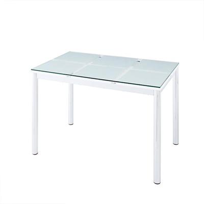 送料無料 ガラスダイニングテーブル テーブル単品 ガラステーブル 強化ガラス ダイニングテーブル ガラスデザインダイニング -ディ・モデラ/テーブル 幅130cm- 食卓テーブル モダン シンプル 家具通販 新生活 敬老の日 040107060