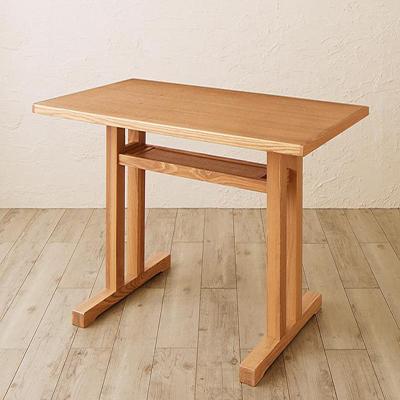 送料無料 ダイニングテーブルのみ 幅115×奥行き65×高さ65.5cm リビングダイニング Retca レトカ 天然木 タモ 無垢材 食卓テーブル リビングテーブル 木製 角型 ナチュラル 500030134