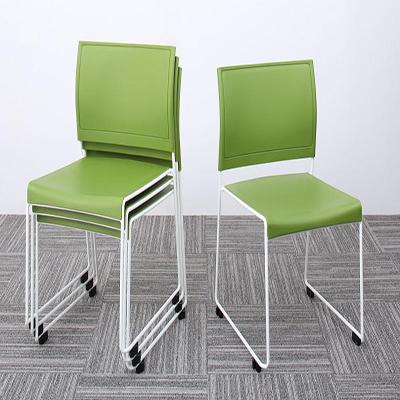 送料無料 スタッキングチェアー 4脚組 ISSUERE イシューレ 4脚セット オフィスチェア スタッキングチェア パソコンチェア 椅子 イス いす スチール ブラック レッド ホワイト グリーン 500033541
