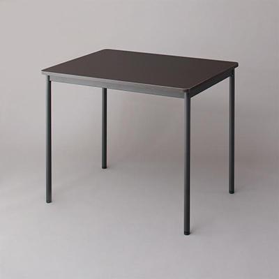 送料無料 オフィスワークテーブルのみ 幅100 奥行き70 高さ70cm 多目的オフィスワークテーブル CURAT キュレート オフィステーブル 木製 スチール脚 平机 ダークブラウン ホワイト ナチュラル 500033546