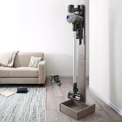 1体 35cm 送料無料 低価格 天然木スティッククリーナースタンド スタンドウッド standwood 倉 500033647