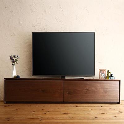 送料無料 国産完成品天然木 Dine 和モダンデザイン 幅200 ディーヌ ガラス突板テレビボード 500033733