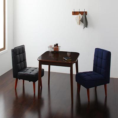 送料無料 ダイニングテーブルセット ダイニングセット ソファ&ダイニングセット 3点セット Aタイプ(テーブルW90cm+チェア×2) 食卓テーブル 木製 2人【DARVY】ダーヴィ 新生活 敬老の日 040112406