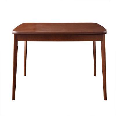 送料無料 ダイニングテーブル単品 幅160cm ダイニング テーブル(W160cm) ウォールナット 食卓テーブル 木製 おしゃれ ひとり暮らし ワンルーム シンプル【DARVY】ダーヴィ 新生活 敬老の日 040112415