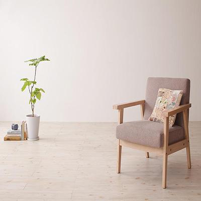 送料無料 北欧 木肘ソファ 1人掛けソファー 肘掛け椅子 アームチェアー アームチェア ヘルトニエミ ソファ 一人掛けソファ 一人用ソファ 1人用 一人掛けソファ 木製フレーム イス 椅子 チェア チェアー 天然木 布張り 布地 一人暮らし コンパクト 北欧デザイン 店舗