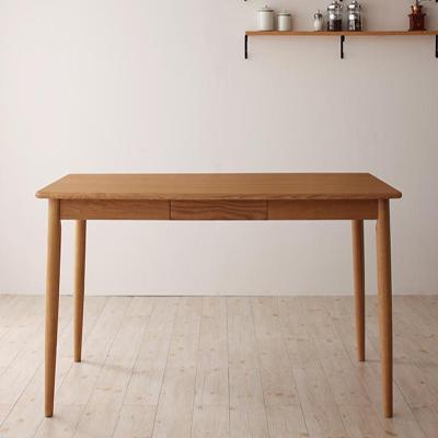 送料無料 ダイニングテーブル 幅150cm 天然木タモ無垢材ダイニング マ・メゾン/テーブル(W150) 家具通販 新生活 敬老の日 040600147