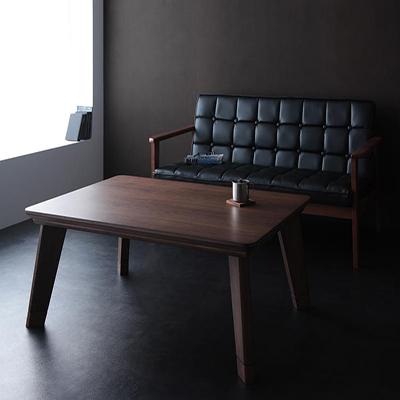 送料無料 モダンデザインフラットヒーターこたつテーブル【Valeri】ヴァレーリ/長方形(105×75) 040600276