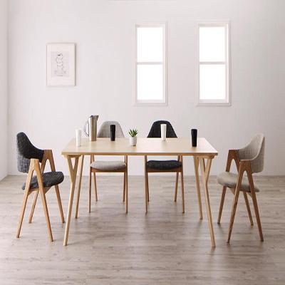 送料無料 ダイニングセット 5点セット テーブル (W170)×1+チェア×4 北欧デザインワイドダイニング オレロ 4人用 4人掛け デザイナーズチェア ダイニングテーブル ダイニングテーブルセット 食卓テーブル 食卓セット 木製 シンプル おしゃれ 北欧 かわいい 040600493