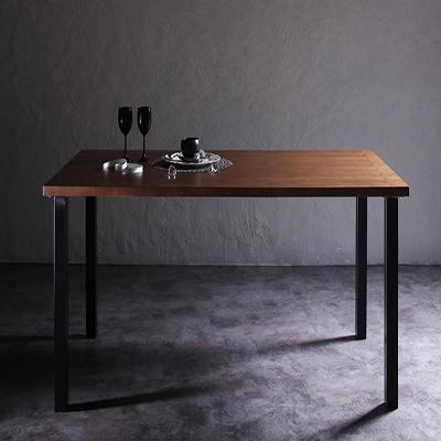 送料無料 ダイニングテーブル単品 幅150cm×奥行80 デザイナーズダイニング トムズ テーブル 食卓テーブル カフェテーブル 机 つくえ 作業台 4人掛け 4人用 木製 高級感 おしゃれ 040601114