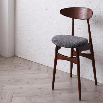 送料無料 ダイニングチェアB(CH33×1脚) デザイナーズダイニング シュプリメイト エレガント ダイニングチェアー チェア チェアー 椅子 イス いす 食卓椅子 木製 高級感 おしゃれ 040601122