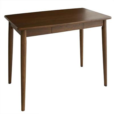 送料無料 テーブル 115×70cm 4人掛け 4人用 北欧デザインダイニング 引出し付き 長方形 クーラ リビング ダイニングテーブル 食卓テーブル つくえ 作業台 木製 高級感 おしゃれ 040601271