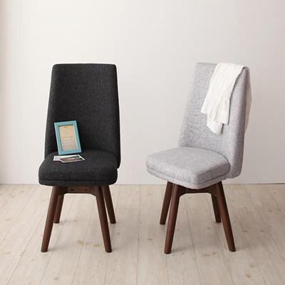 送料無料 回転チェア(2脚組) 北欧デザイン らくらく回転チェアダイニング クーラ 回転 回転椅子 回転チェアー ダイニングチェア ダイニングチェアー 椅子 いす イス 木製 北欧 040601273