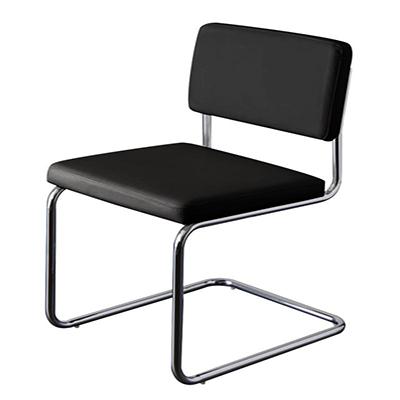 送料無料 スチールデザインチェア(2脚組) ダイニングチェア チェア チェアー ブレイド ダイニングチェアー 椅子 イス いす 食卓椅子 食卓チェア スチール ソフトレザー 高級感 おしゃれ モダン 040601313