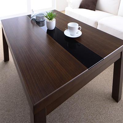 送料無料 アーバンモダンデザインこたつ GWILT SFK グウィルト エスエフケー こたつテーブル単品 長方形(75×105cm) 040702925