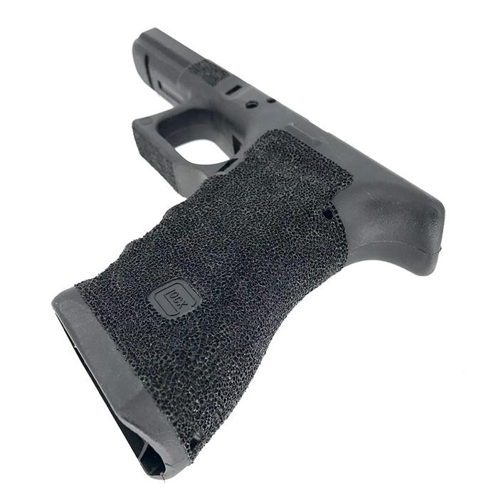 【土日祝も あす楽】Guns Modify Polymer Gen 3 RTF Frame (Stippling T Style) G17 BK GM0278