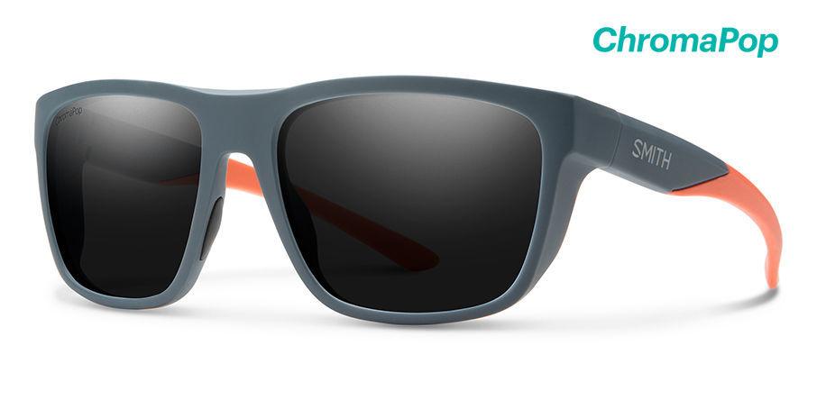 SMITH スミス サングラス 偏光 クロマポップレンズ Barra New レンズ CP-Polar Black フレーム Matte Thunder Orange