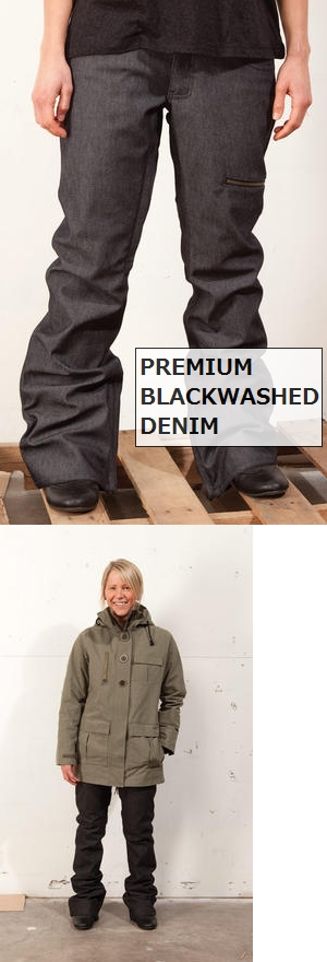 SHOP L1 エルワン ウェア WOMENS SCARLETT PREMIUM EDITION PANT スカーレットプレミアムエディションパンツ 2011-2012 【送料無料】 1081210404-012 スノボ