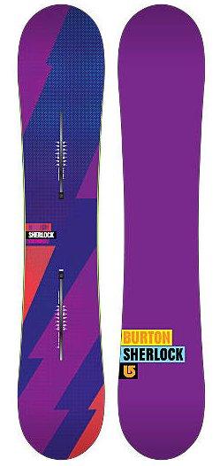SHOP BURTON バートン 2011-2012モデル スノーボード板 SHERLOCK/シャーロック 154 【送料無料】【burton】