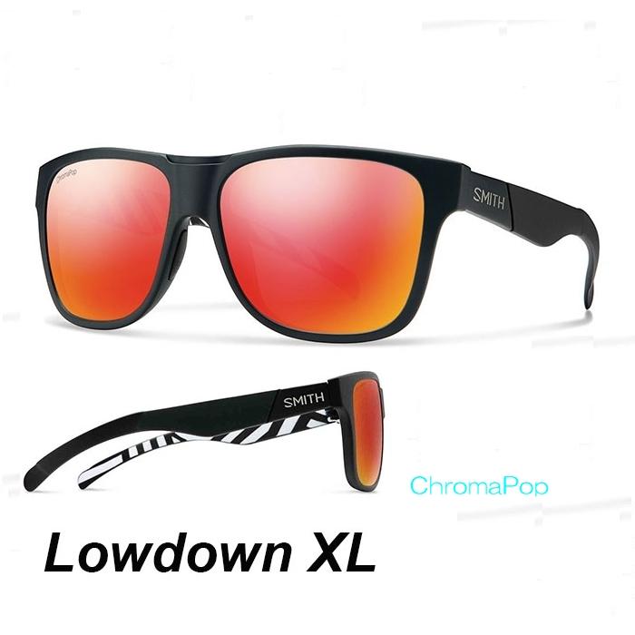 b9f6804e91e Smith sunglasses lowdown XL smith LowdownXL Squall lens Chromapop Sun Red  Mirror polarization fashion