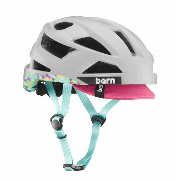 bern バーン ヘルメット サイクリングヘルメット メンズ レディース FL-1 Satin Light Grey