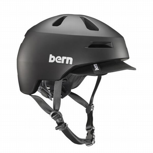 bern バーン ヘルメット スケボー ロードバイク BRENTWOOD2.0 Matte Black