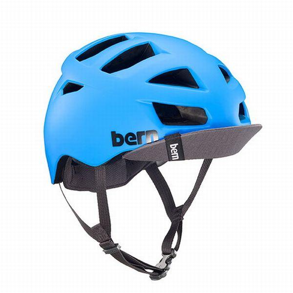 bern バーン ヘルメット 自転車 バイク サイクリング メンズ レディース ALLSTON Matte Cyan Blue