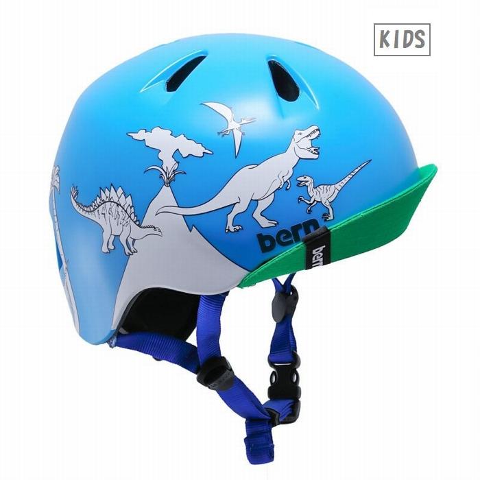 日本正規品 メーカー保証付 通信販売 bern バーン キッズ 子供用 ヘルメット NINO スケボー 自転車 SS 商店 推奨年齢2-6歳