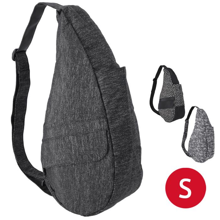 ヘルシーバックバッグ sサイズ Healthy Back Bag ブラック Tote Prints and Patterns アメリバッグ AmeriBag ボディバッグ 男女兼用 バッグ