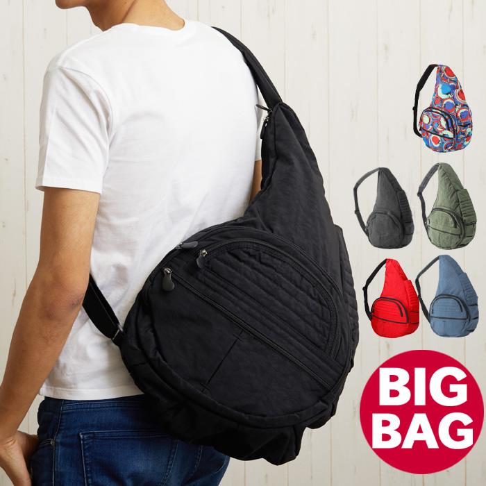 【クーポンで全品15%オフ】 アメリバッグ ボディバッグ AmeriBag Healthy Backbag ヘルシーバックバッグ キャリー オール バッグ ショルダー ショルダーバッグ 旅行バッグ マザーバッグ