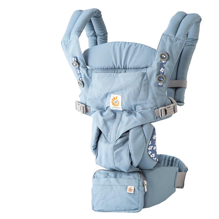 【クーポンで全品15%オフ】 エルゴベビー 抱っこ紐 オムニ360 ブルーデイジーズ ERGO baby Omni 360 Blue Daisies