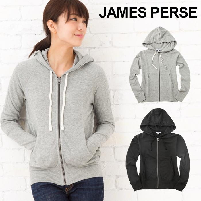 【--】 【メンズ】 パーカ・MXI2130-0171601 【トップス】 ジップアップ 【ジェームスパース JAMES PERSE】 コットン裏毛スウェット