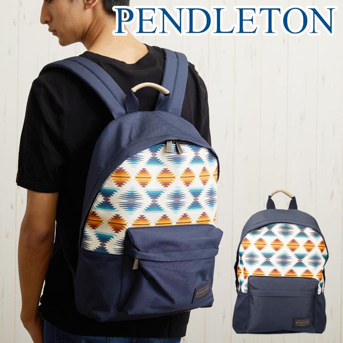 ペンドルトン バッグ バックパック リュック Pendleton Backpack ファルコンコーブパターン コットン バッグ キャンプ メンズ レディース ユニセックス リュック バック 男女兼用 カジュアル リュックサック 通学 通勤 旅行 おでかけ デイバック