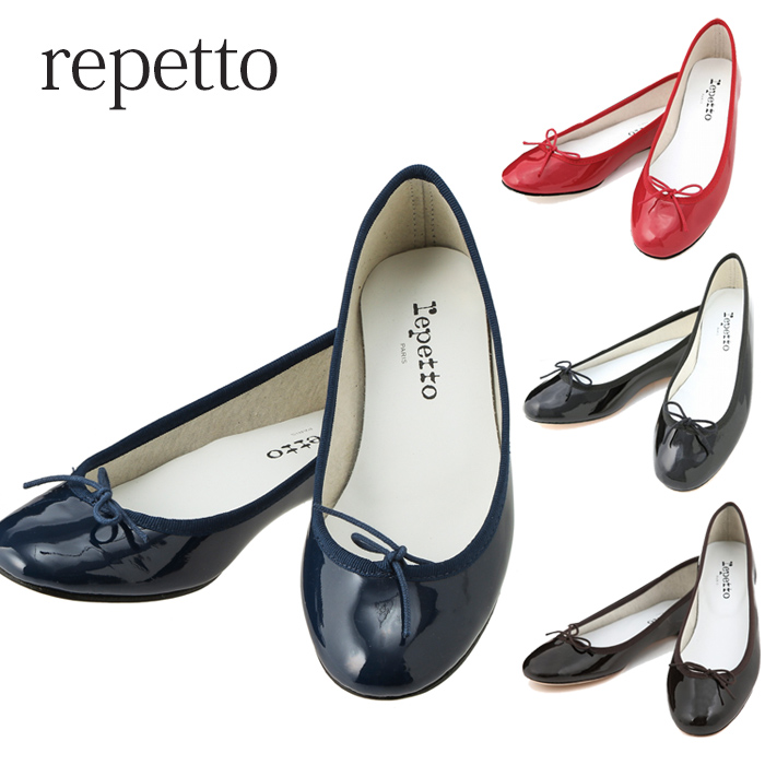 [Repetto海外正規品]柔らかくて履きやすいレペット☆repetto☆バレエシューズ レペット Repetto エナメル バレエシューズ BALLERINE BB VERNIS ベベ フラットシューズ 靴 repetto