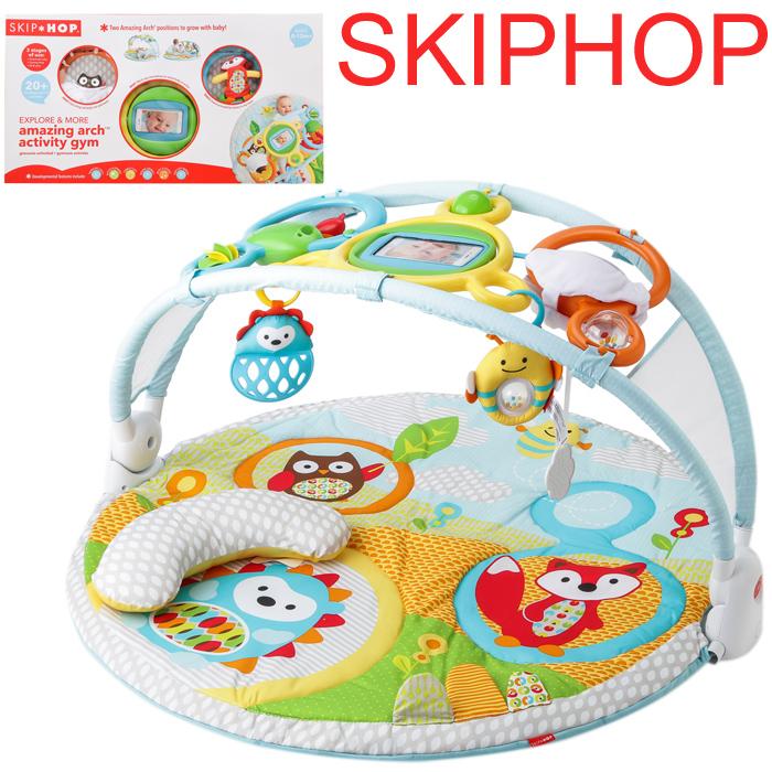 プレイスポット SKIP HOP ZOO SKIP HOP 【クーポンで全品15%オフ】 スキップホップ skip hop プレイマットアニマル ズー フロアタイル スキップホップ