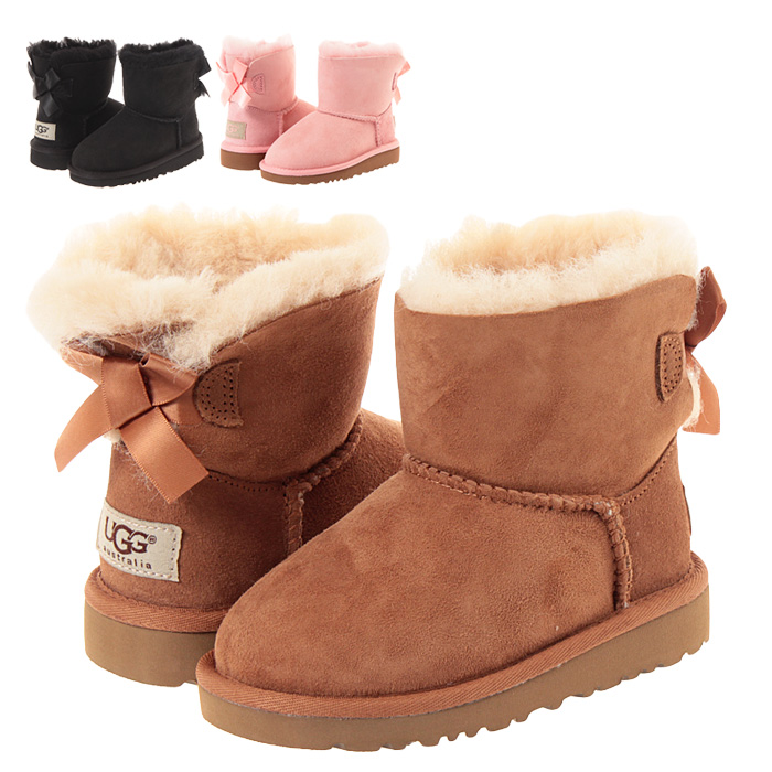 a9ede02a3d1 UGG kids mouton boots overseas regular article UGG Australia toddler  mini-Bailey bow tie Toddlers MINI BAILEY BOW [5497T] baby