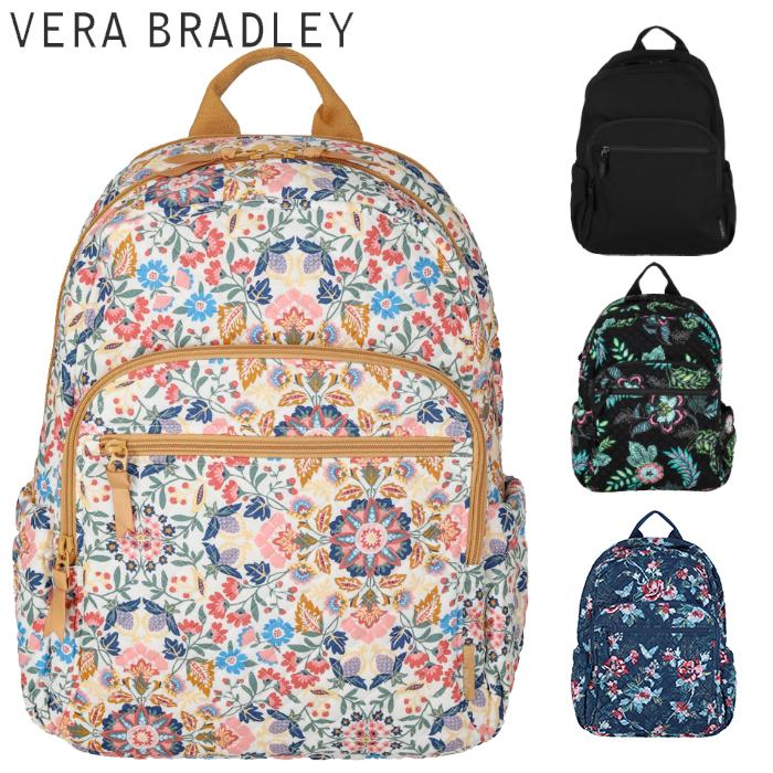 ヴェラブラッドリー バックパック VERA BRADLEY Lighten Up Grand Backpack ライトアップグランド バックパック軽量 Backpack モダン ベラブラッドリー リュック バック リュックサック レディース コンパクト 収納ポケット