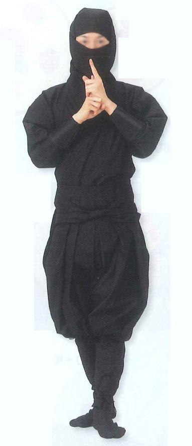 忍装束セット【黒】