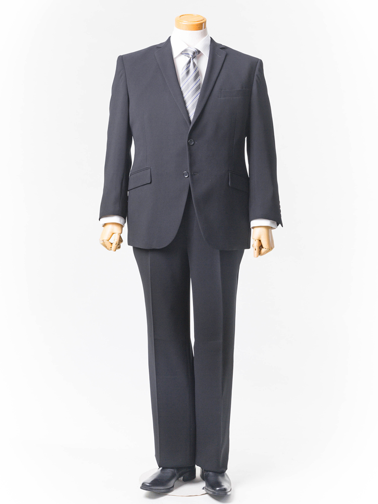 【クーポン発行中】フォーマル 大きいサイズ メンズ 紳士服 3L 4L 5L GIOVANNI AREZZO Smart フォーマル【ストレッチ・パンツウォッシャブル】 ブラック・無地 大きいサイズの店 フォーエル