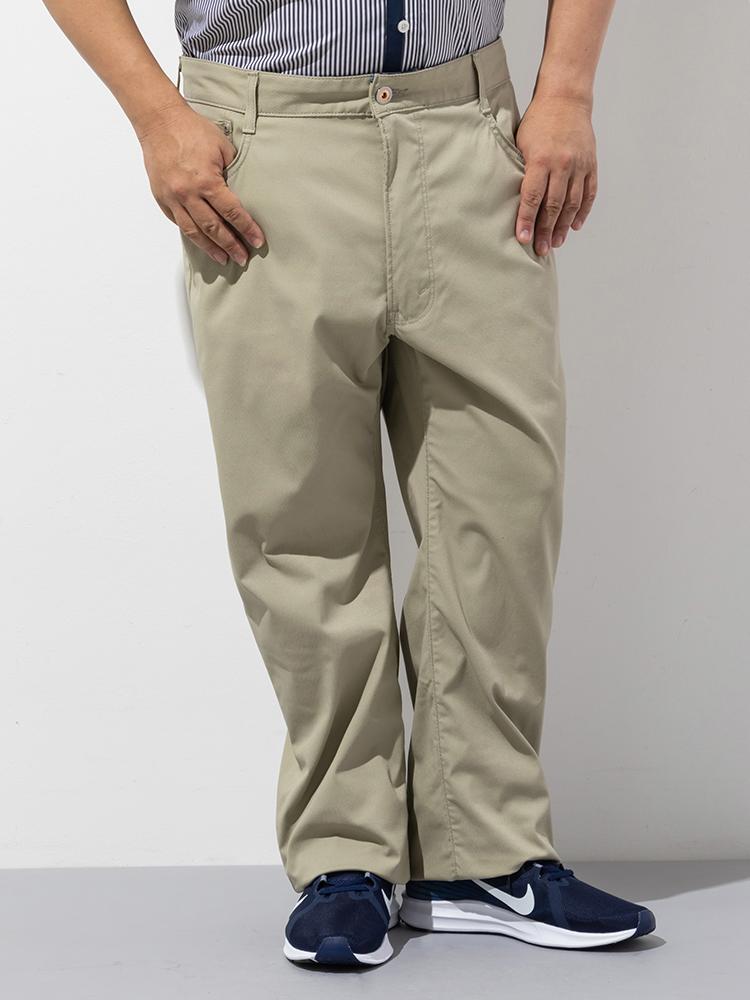 【クーポン発行中】ジーンズ 大きいサイズ メンズ ボトムス 3L 4L 5L EDWIN JERSEYS COOL STRAIGHT ベージュカラー 大きいサイズの店 フォーエル