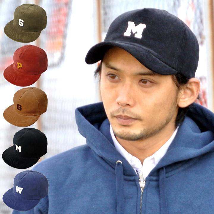 e99c8245c9463 Baseball Cap corduroy flat visor initial patch Hat Cap baseball caps mens  Womens black blue khaki beige red corduroy Cap simple 15c-2477